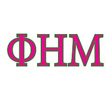 OHM Greek Logo Photographic Print