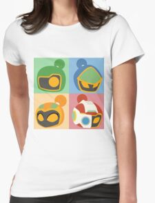 The Bomber Kings - Bomberman minimalist Womens Fitted T-Shirt