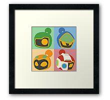 The Bomber Kings - Bomberman minimalist Framed Print
