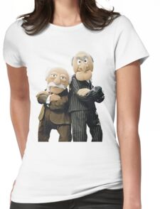 Statler and Waldorf Womens Fitted T-Shirt