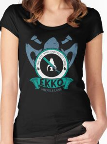 Ekko - The Boy Who Shattered Time Women's Fitted Scoop T-Shirt