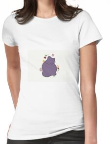 Kawaii Ditto Womens Fitted T-Shirt