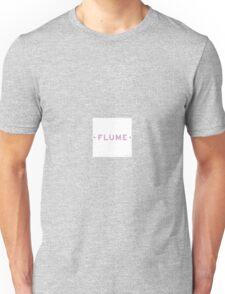 FLUME ART LOGO MERCH WHITE Unisex T-Shirt