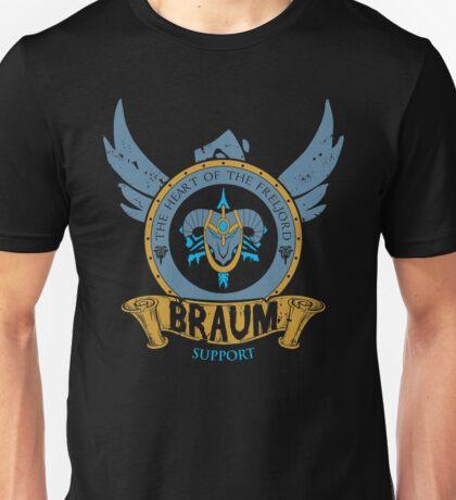 Braum - The Heart of the Freljord Unisex T-Shirt