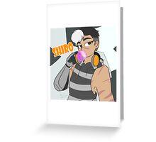 Voltron: Shiro Greeting Card