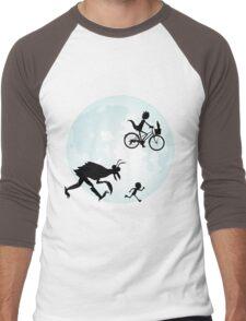 E.T. Rick and Morty Men's Baseball ¾ T-Shirt