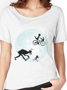 E.T. Rick and Morty Women's Relaxed Fit T-Shirt