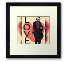 Rapmon phone cases and more Framed Print