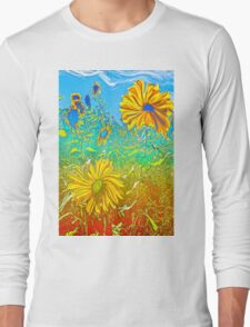 Surreal Field Long Sleeve T-Shirt