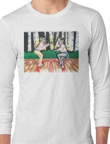 Wolf vs Wolf Long Sleeve T-Shirt