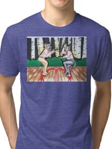 Wolf vs Wolf Tri-blend T-Shirt