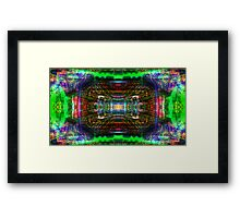 Tribal Conduit 01 Framed Print