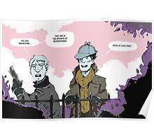 Sherlock Holmes- Deerstalker Poster