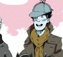 Sherlock Holmes- Deerstalker Sticker