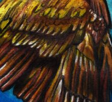 Ravenclaw Bronze Eagle Sticker