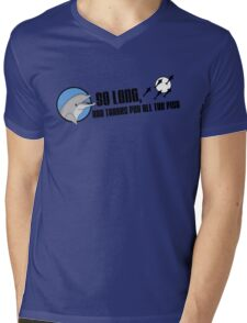 So Long and Thanks For All The Fish Mens V-Neck T-Shirt