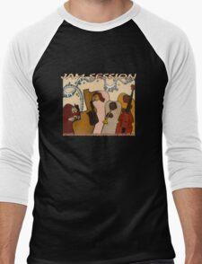 Jam Session T-Shirt Men's Baseball ¾ T-Shirt
