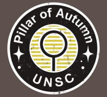 UNSC Pillar of Autumn Emblem Kids Clothes