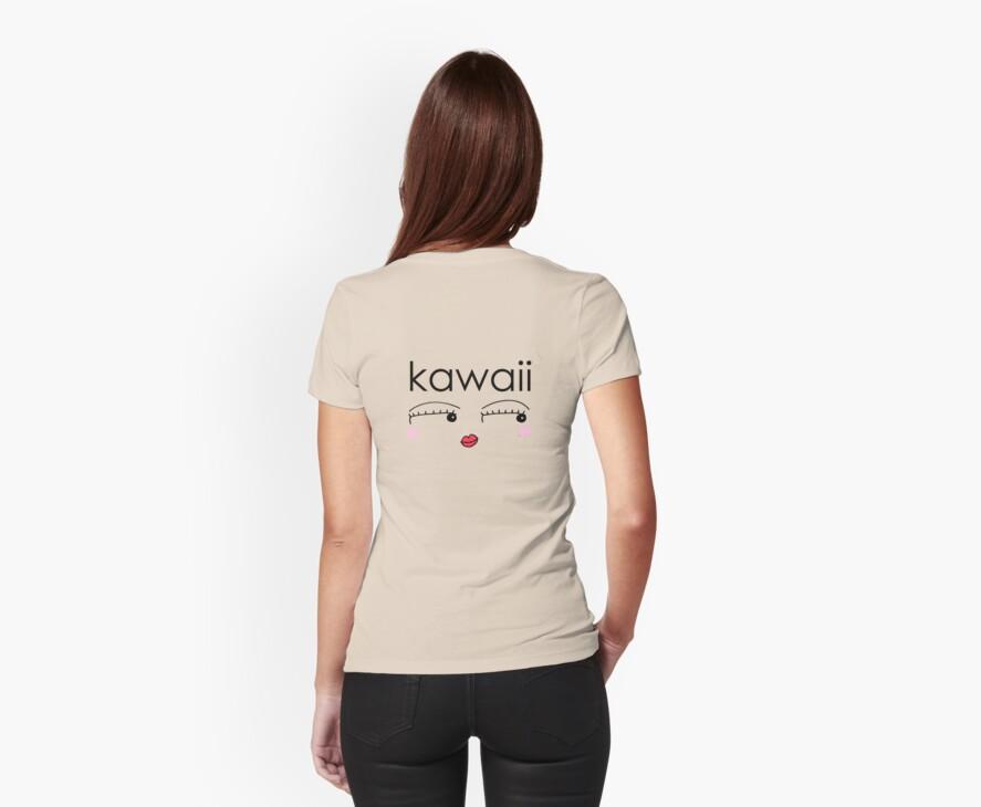 Kawaii-Tshirt (Cute) by Midori Furze