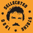 "john tom ""selleck-ted"" magnum stache shirt by kennypepermans"