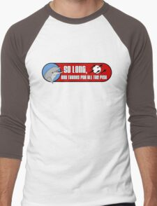 So Long and Thanks For All The Fish Men's Baseball ¾ T-Shirt