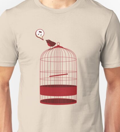 singing bird Unisex T-Shirt