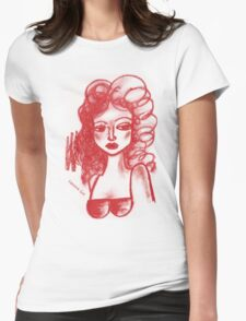 Lip Stick Girl Tshirt T-Shirt