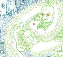 Snake Pipe Hollow - Giant & Snake cover Sticker