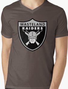 Wasteland Raiders Mens V-Neck T-Shirt