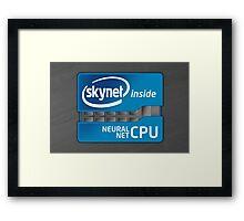 Skynet Inside Framed Print