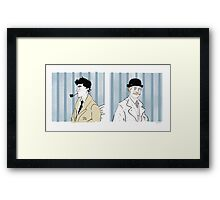 Deductions Framed Print