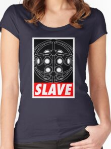 A Slave Obeys Women's Fitted Scoop T-Shirt