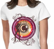 Trance Control Womens Fitted T-Shirt