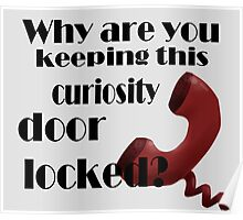 Why are You Keeping This Curiosity Door Locked? Poster