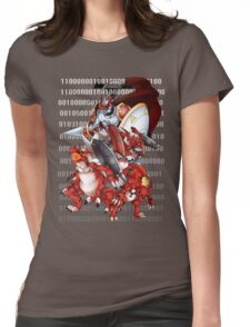 Guilmon Evolution Womens Fitted T-Shirt