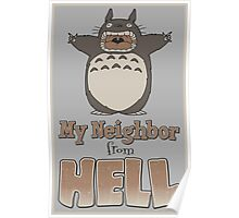 My Neighbor From Hell Poster