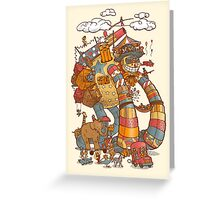 Circusbot Greeting Card