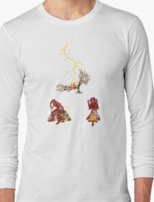 The Discovery of Fire #2 Long Sleeve T-Shirt