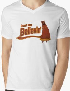 Don't Stop Believin' Mens V-Neck T-Shirt