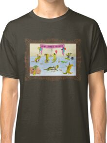 Pissed as a Newt (on light) Classic T-Shirt