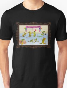Pissed as a Newt (on light) T-Shirt
