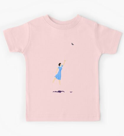 Butterfly Girl Without String Kids Tee
