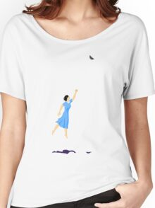 Butterfly Girl Without String Women's Relaxed Fit T-Shirt