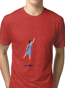 Butterfly Girl Without String Tri-blend T-Shirt