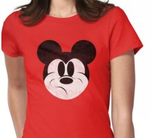 Mad Mouse Womens Fitted T-Shirt
