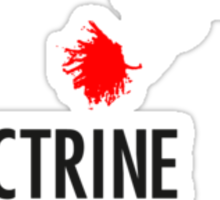 Doctrine Without Borders Sticker
