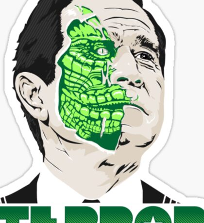 The President of Terror  Sticker