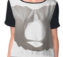 Paper Shadows Chiffon Top