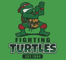 Fighting Turtles Baby Tee