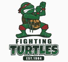 Fighting Turtles One Piece - Long Sleeve